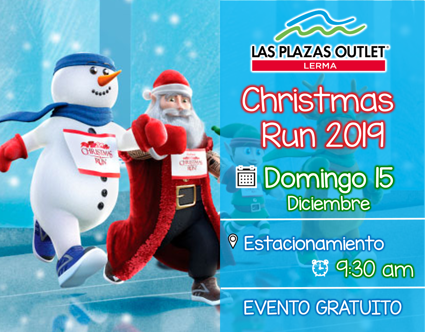 Las Plazas Outlet Lerma - Christmas run