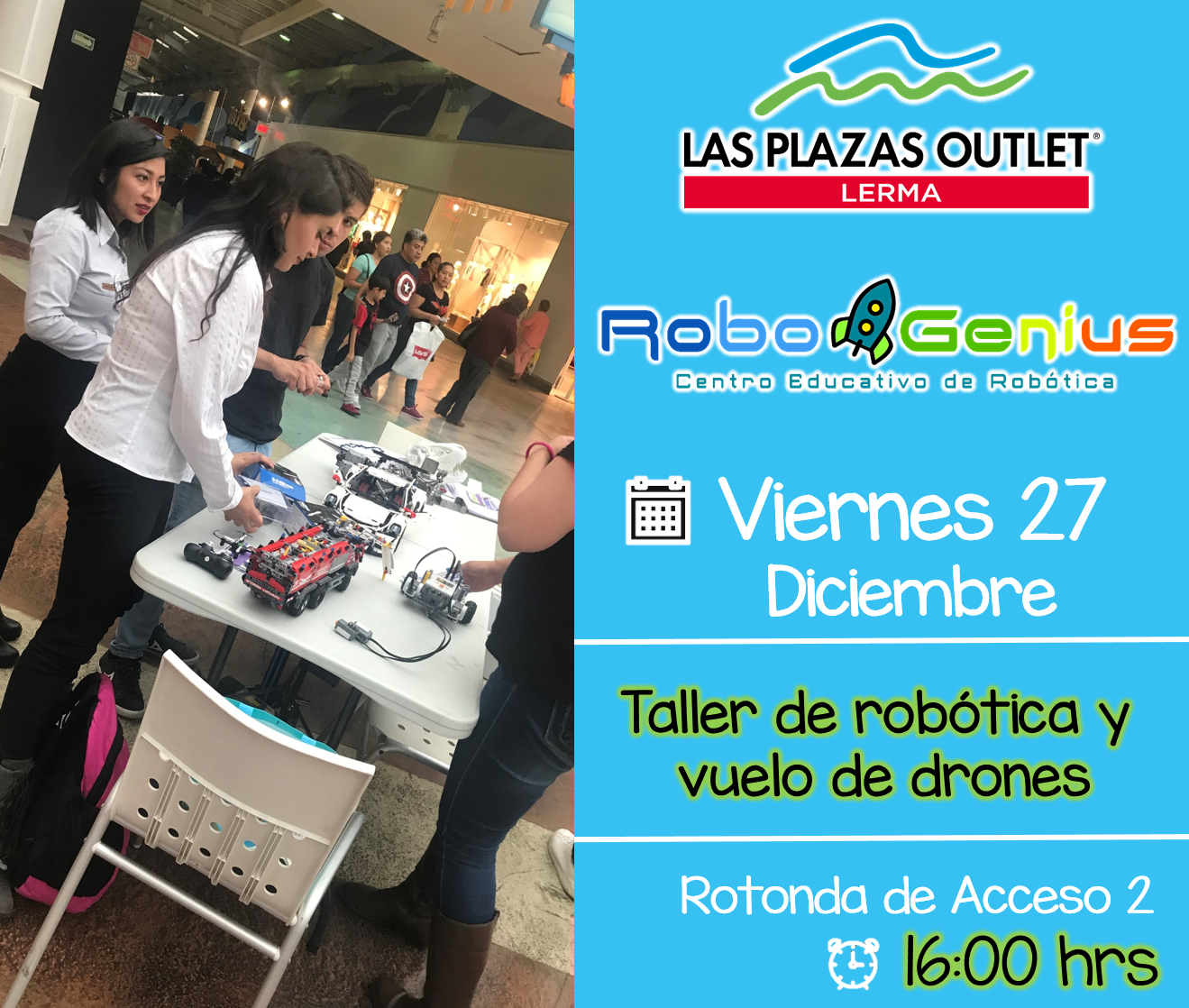Las Plazas Outlet Lerma - Robo Genius