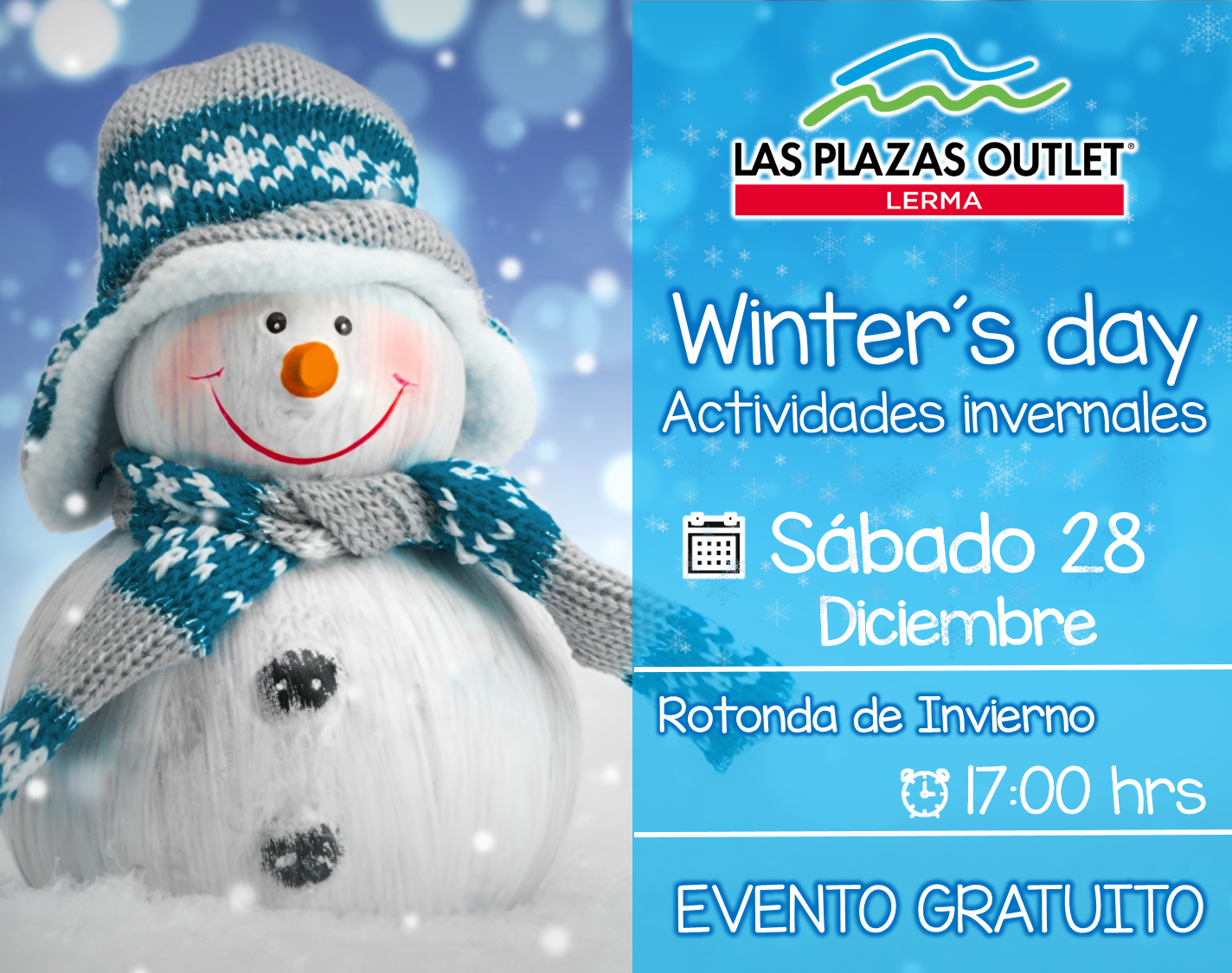 Las Plazas Outlet Lerma - Winters day